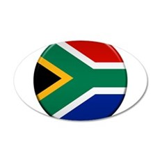 South African Button Wall Decal