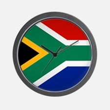 South African Button Wall Clock
