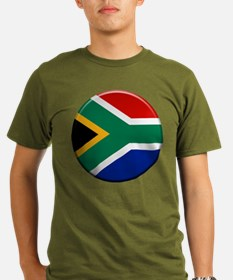 South African Button T-Shirt