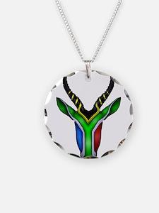 Springbok Flag Necklace