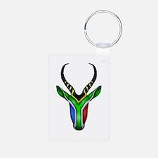 Springbok Flag Keychains