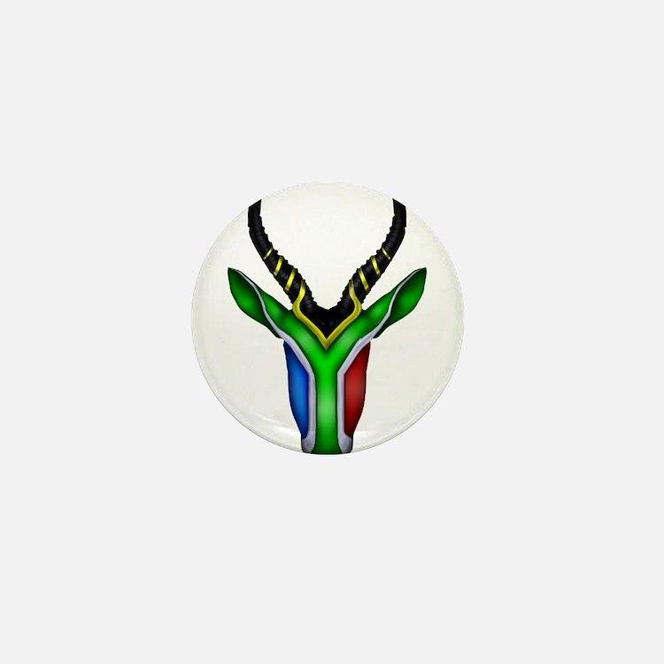 Springbok Flag Mini Button