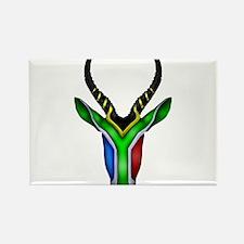 Springbok Flag Rectangle Magnet (100 pack)