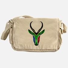 Springbok Flag Messenger Bag