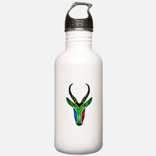 Springbok Flag Water Bottle