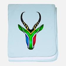 Springbok Flag baby blanket