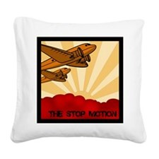 The Stop Motion Square Canvas Pillow
