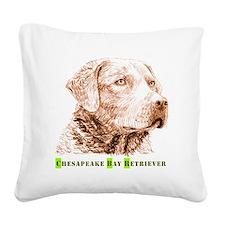Chesapeake Bay Retriever - Square Canvas Pillow