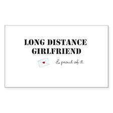 Long Distance Girlfriend Decal