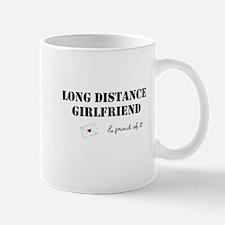 Long Distance Girlfriend Mug
