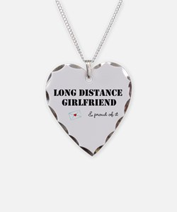 Long Distance Girlfriend Necklace