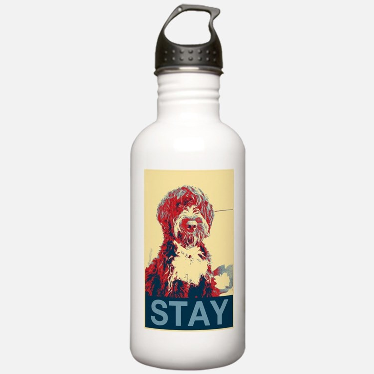 Obama Dogs Water Bottle