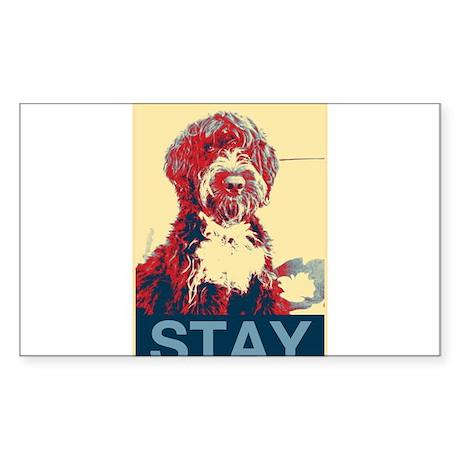 Obama Dogs Sticker (Rectangle)