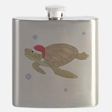 Santa - Turtle Flask