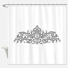 Atheist Logo Shower Curtain