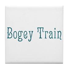 Bogey Train Tile Coaster