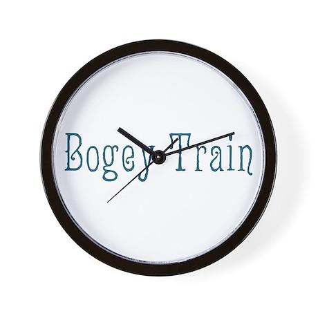 Bogey Train Wall Clock