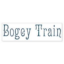 Bogey Train Bumper Sticker