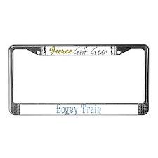 Bogey Train License Plate Frame