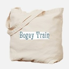 Bogey Train Tote Bag