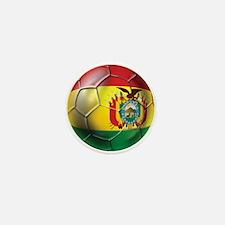 Bolivia Futbol Mini Button
