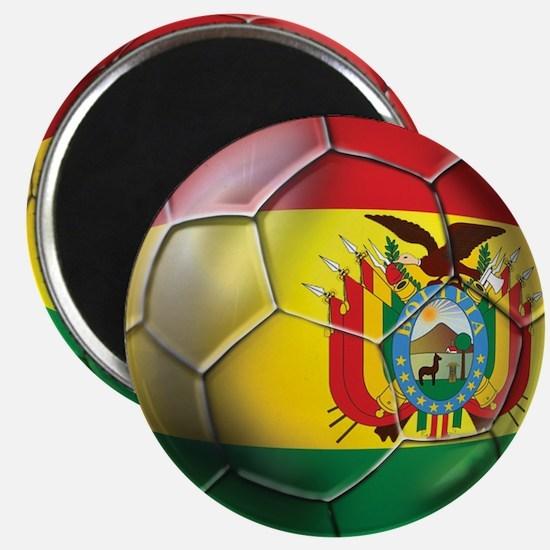 Bolivia Futbol Magnet