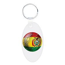 Bolivia Futbol Keychains
