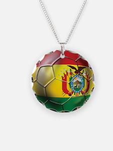 Bolivia Futbol Necklace