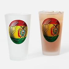 Bolivia Futbol Drinking Glass