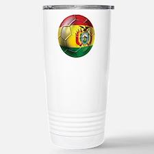 Bolivia Futbol Travel Mug