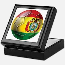 Bolivia Futbol Keepsake Box