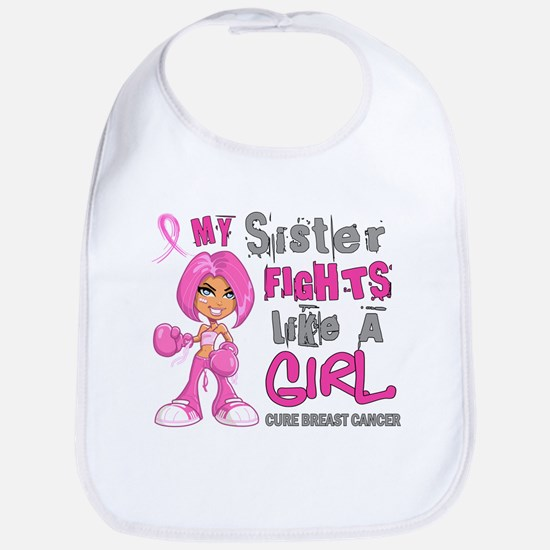 Licensed Fight Like A Girl 42.9 Breast Cancer Bib