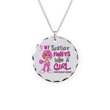 Fights Like a Girl 42.9 Breast Cancer Necklace