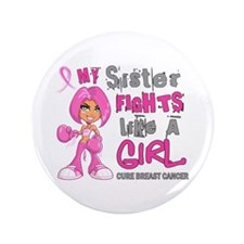Licensed Fight Like A Girl 42.9 Breast Canc Button