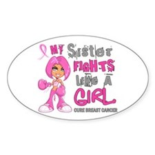 Licensed Fight Like A Girl 42.9 Bre Decal