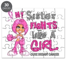 Licensed Fight Like A Girl 42.9 Breast Canc Puzzle