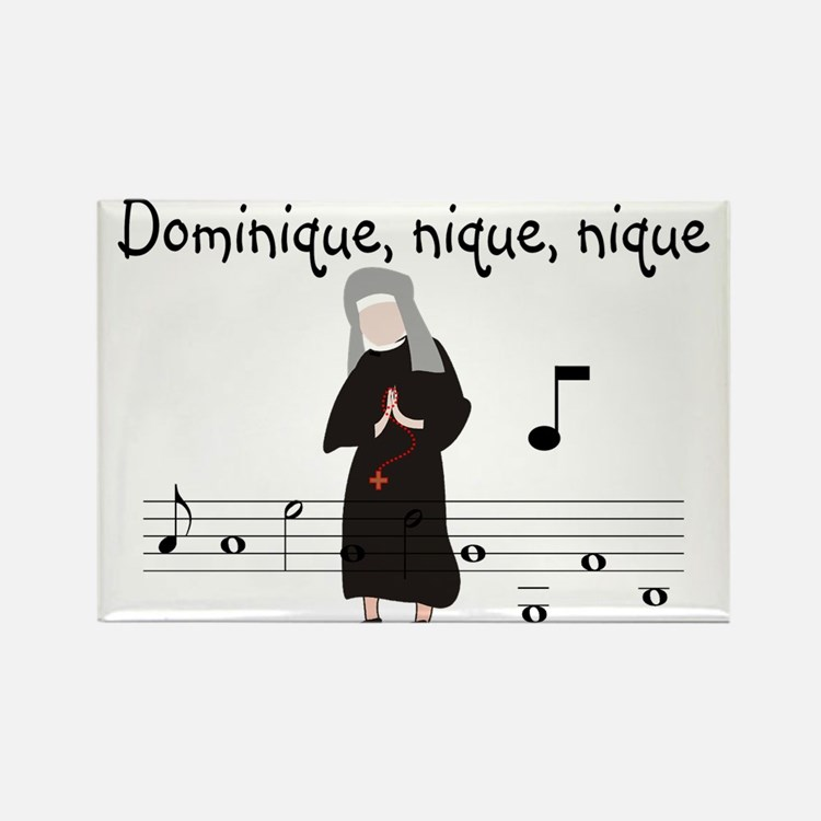 Dominique.PNG Rectangle Magnet (10 pack)