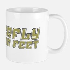 Butterfly with Sore Feet Mug