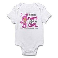 Licensed Fight Like A Girl 42.9 Br Infant Bodysuit