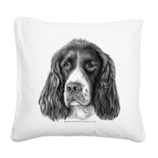 English Springer Spaniel Square Canvas Pillow