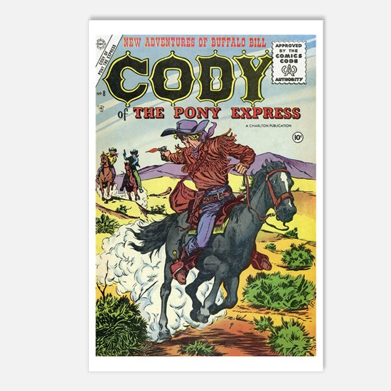 Cody of the Pony Express #8 Postcards (Package of