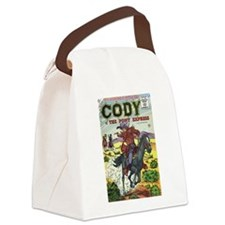 Cody of the Pony Express #8 Canvas Lunch Bag
