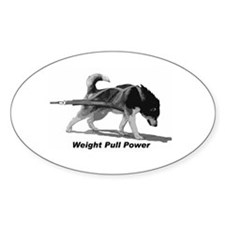 Weight Pull Power Decal