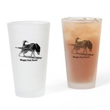 Weight Pull Power Drinking Glass