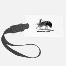 Weight Pull Power Luggage Tag