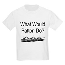 What Would Patton Do? Kids T-Shirt