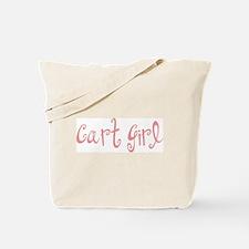 Cart Girl Tote Bag