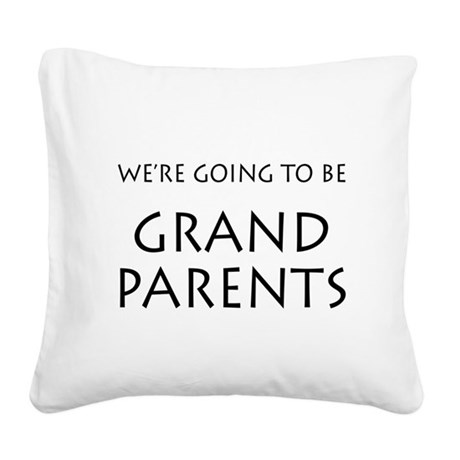 Going to be grandparents announcement Square Canva