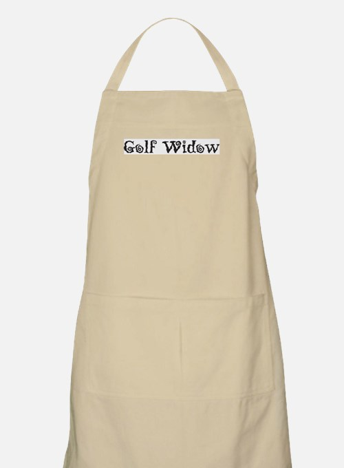 Golf Widow Apron
