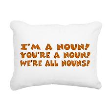 nouns.png Rectangular Canvas Pillow